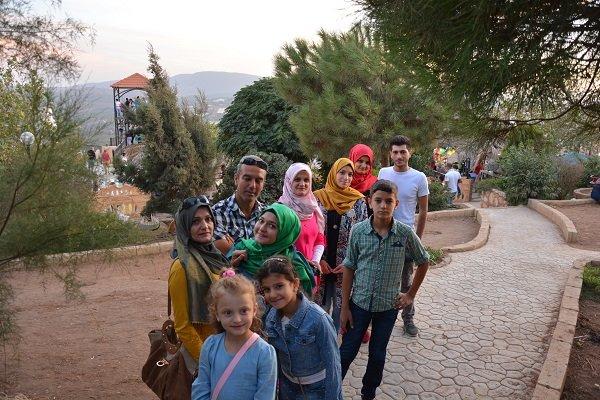 حديقة ايران في لبنان
