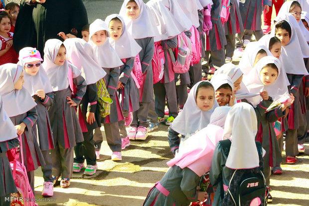تعداد دانش آموزان استان قزوین افزایش یافت