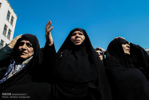 Tahran halkından Mina faciasına kkınama