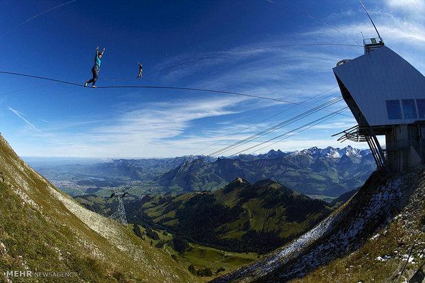 رقابت بندبازان اروپا در سوئیس