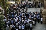 تجمع طلاب تهران در اعتراض به فاجعه منا