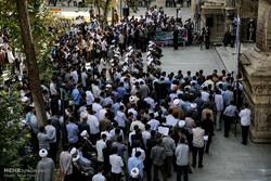 تجمع طلاب تهرانی در اعتراض به وضع معیشتی مردم