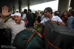 بازگشت حجاج ایرانی از سفر به مکه مکرمه و مدینه منوره
