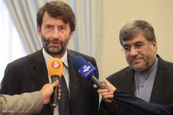 دیدار وزرای فرهنگ ایران وایتالیا