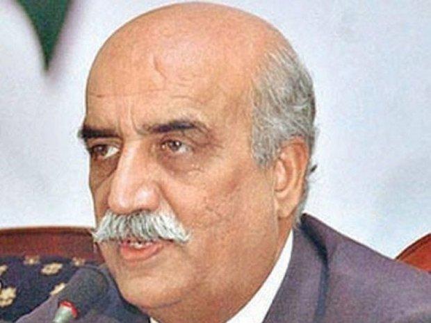 خورشید شاه نماینده پارلمان پاکستان