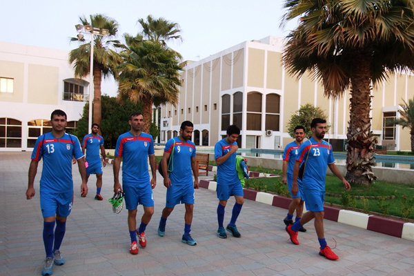 گزارش تصویری از تمرین تیم ملی فوتبال ایران در امارات