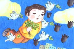 تصویرگری کودکان فلسطینی