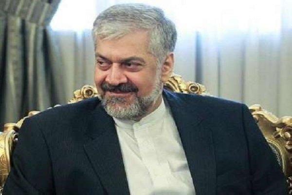 سرمدي يستقبل وزير الخارجية الجورجي ويجري معه مباحثات