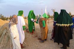 آئین بازسازی واقعه غدیرخم در ورامین برگزار شد