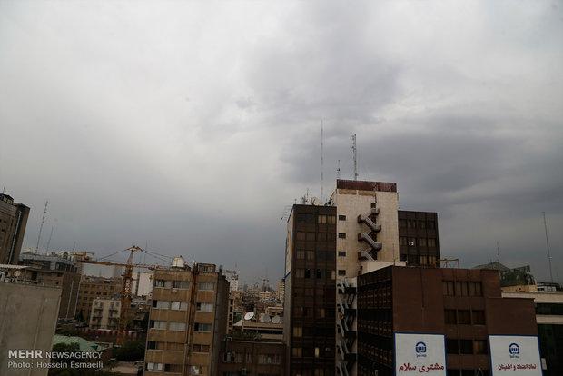 بارش باران و وزش باد در تهران طی ۲ روز آینده,