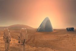 زندگی ساکنان مریخ در خانههای یخی