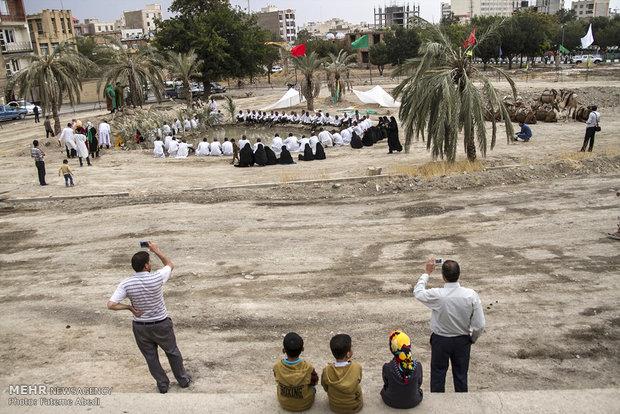 بازسازی نمادین واقعه غدیر خم در اراک