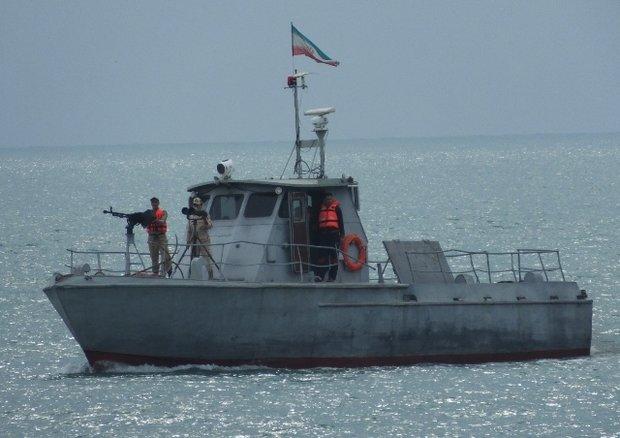 İran Deniz Kuvvetleri Kazakistan yolculuğunda