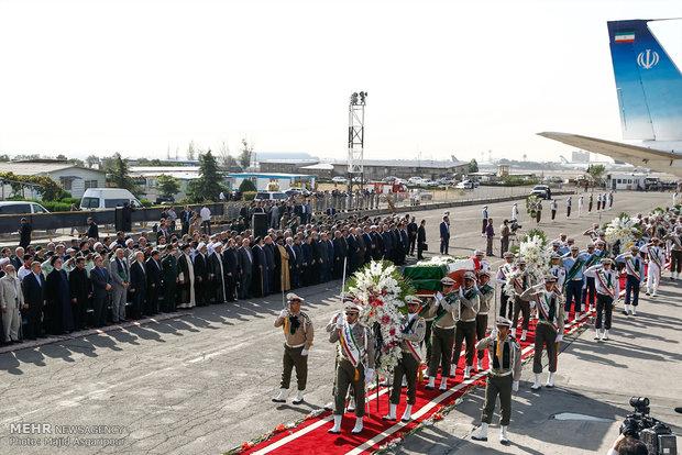 وصول 87 جثمانا للحجاج الايرانيين