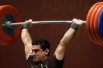 İranlı halterci altın madalyada hat-trick yaptı