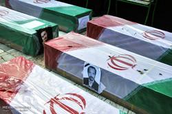 تشییع پیکر جانباختگان فاجعه منا در مشهد