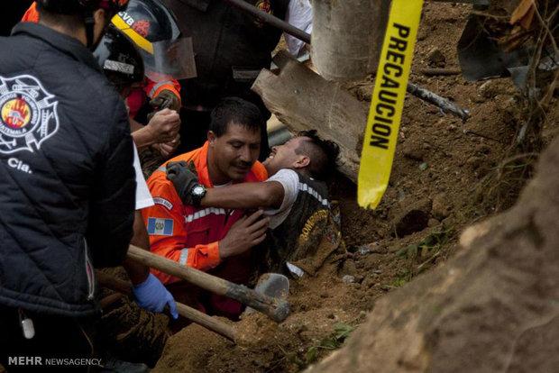 رانش زمین در گواتمالا