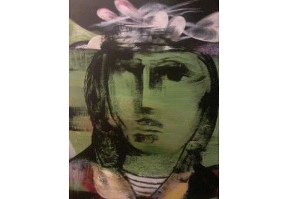 «انسان بی تاریخ» روی بوم نقاشی شد
