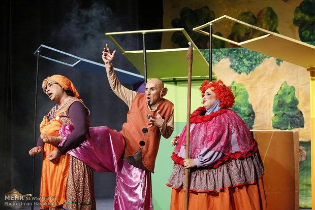 چهارمین روز از  جشنواره بین المللی تئاتر کودک و نوجوان