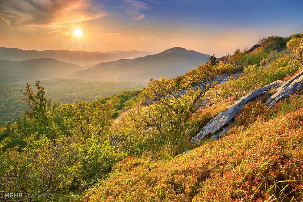 تصاویر زیبای طبیعت پاییز