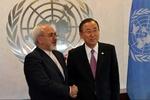 Zarif meets UN chief in NY