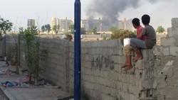 انفجارات تهز مقر إقامة بحاح في عدن و18 قتيلا أغلبهم إماراتيون