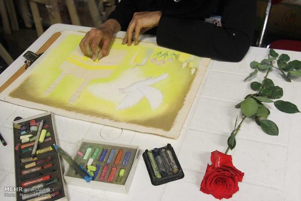 کارگاه نقاشی طواف لاله ها