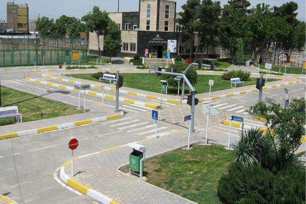 برگزاری جشن اختتامیه آموزش های متمرکز ترافیکی غرب تهران