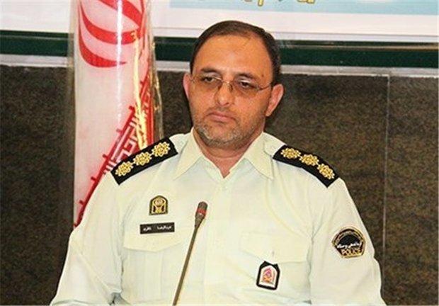 کاهش تصادفات در شرق استان تهران