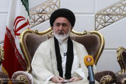 نشست خبری قاضی عسکر در فرودگاه امام خمینی (ره)