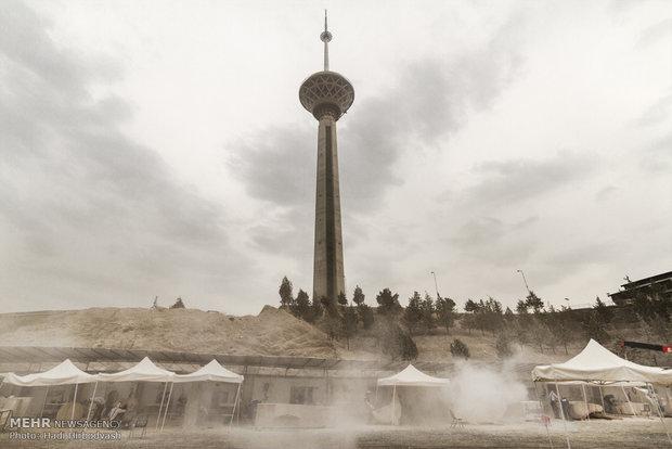 کارگاه سمپوزیوم بین المللی مجسمه سازی در برج میلاد