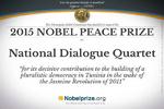 کمیته چهارجانبه صلح تونس برنده نوبل صلح ۲۰۱۵ شد