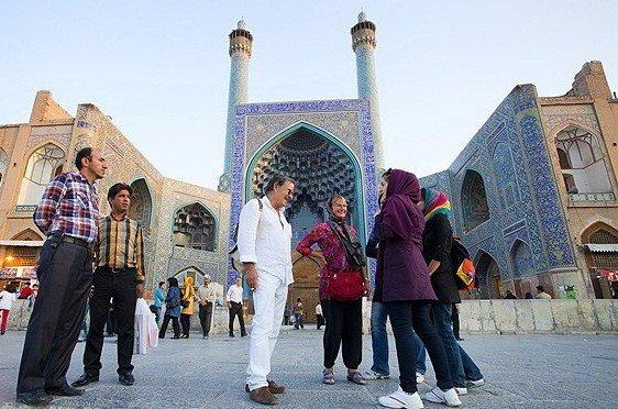 ايران أفضل بلد للسيّاح الأمريكيين