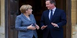 بريطانيا والمانيا تبحثان ضرورة إيجاد حل سياسي للأزمة السورية