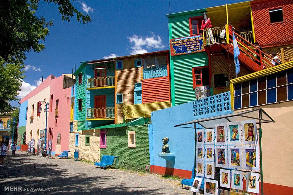 شهرهای رنگارنگ جهان