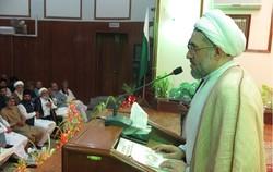 آية الله اراكي : علماء الشيعة والسنة في باكستان متفقون في آرائهم