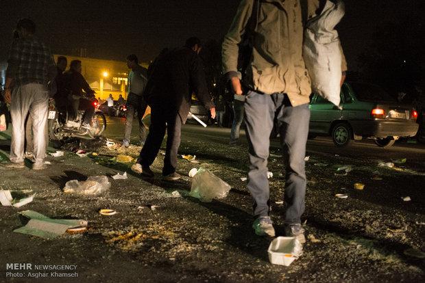 بازدید اعضای شورای شهر از محله هرندی وگرمخانه خاوران