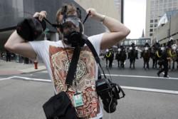 صحافیوں کو آزادانہ طور پر کام کرنے میں مشکلات کا سامنا