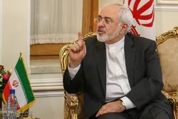 دیدار یان الیاسون قائم مقام دبیر کل سازمان ملل متحد با محمدجواد ظریف وزیر امور خارجه ایران