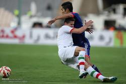 دیدار تیم های ملی فوتبال ایران و ژاپن