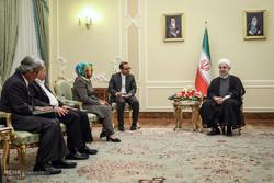 دیدار وزیر امور خارجه اندونزی با رئیس جمهور