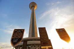 خیمه های سوگ در برج میلاد برپا می شود