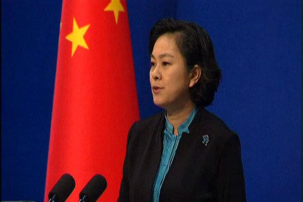 سخنگوی وزارت خارجه چین: نمیتوانم نفس بکشم!