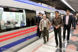 افتتاح مترو اصفهان با حضور وزیر کشور