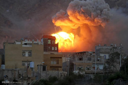 Suudi Arabistan hastaneyi bombaladı / Video