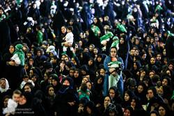 تہران میں ششماہے مجاہد کی یاد میں حسینی بچوں کا اجتماع(2)