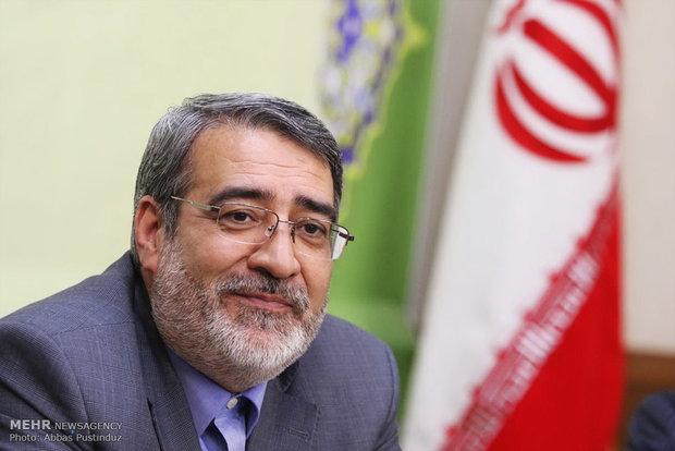 نشست خبری وزیر کشور در اصفهان