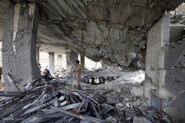 ادامه بمباران یمن