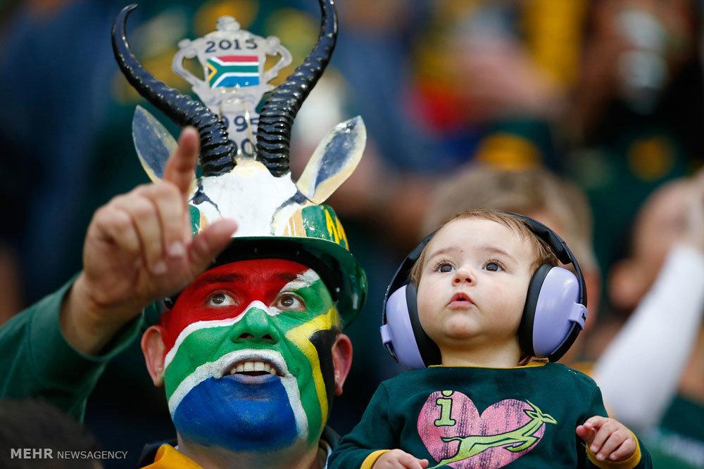تماشاگران مسابقات جام جهانی راگبی