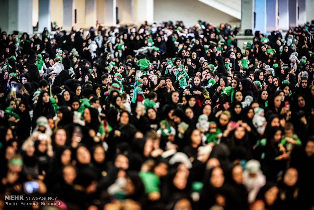 عکس های همایش شیرخوارگان حسینی